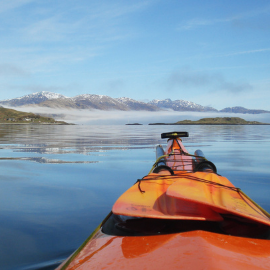 sea kayak in Scotland