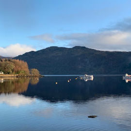 View from Tarbet