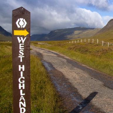 West Highland Way Signpost